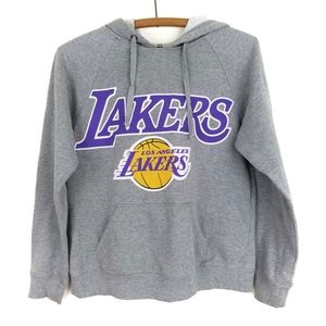 NBA Lakers sweater jacket with hoodie